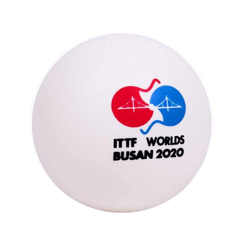 Пластиковые мячи DHS 3* DJ40+ (6шт) WORLDS BUSAN