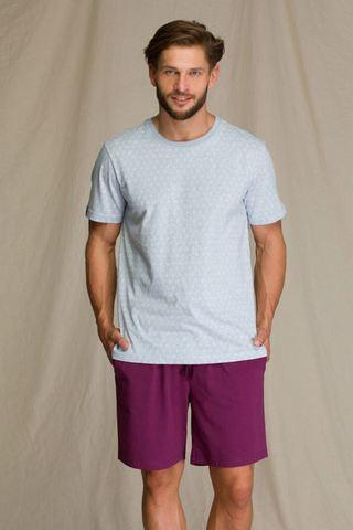 Пижама мужская с шортами KEY MNS 810 A21