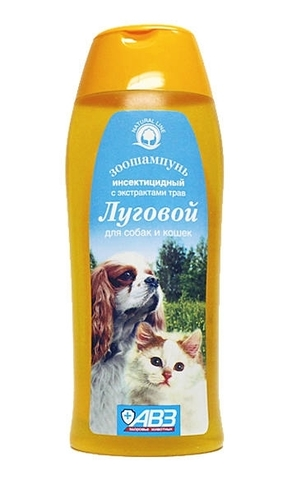 Луговой инсектицидный зоошампунь для собак и кошек   270 мл