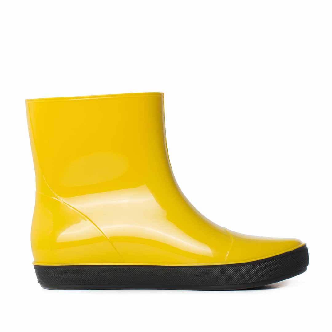 Полусапожки Nordman Alida утепленные желтые