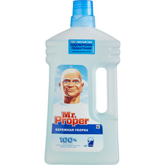 Средство для мытья пола Mr.Proper Бережная уборка 1 л