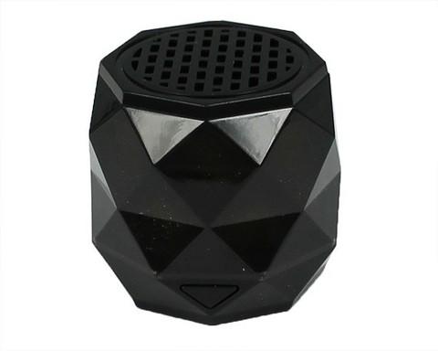 Колонка G-1130 diamond | с подсветкой черная Bluetooth/TF/microUSB