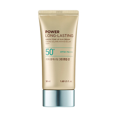 Солнцезащитный крем THE FACE SHOP Power Long-Lasting Green Tone Up Sun SPF50+ PA++++ 50ml