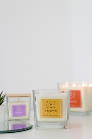 Свеча ароматическая в стекле