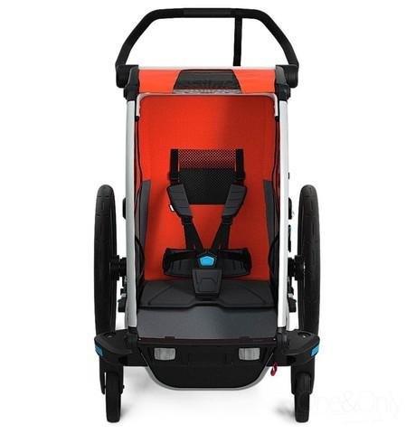 Картинка коляска Thule Chariot Cross2 темно-оранжевая  - 5
