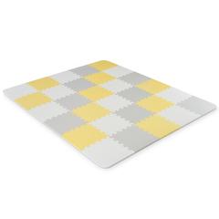 Развивающий коврик-пазл Kinderkraft Luno Yellow