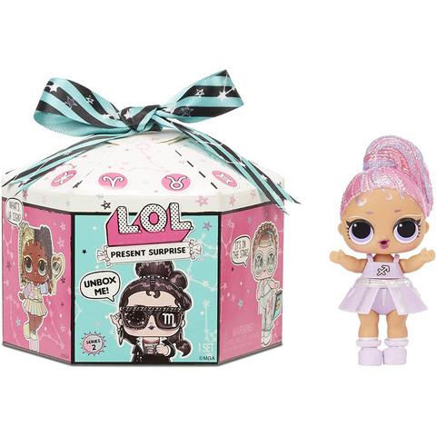 ЛОЛ Кукла-подарок 2 Серия Блестящие Знаки Зодиака