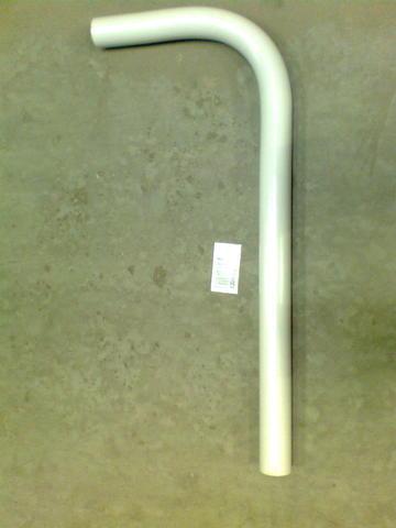 13046824 Отвод ПВХ диа.63 мм, 900х370мм, 90 градусов