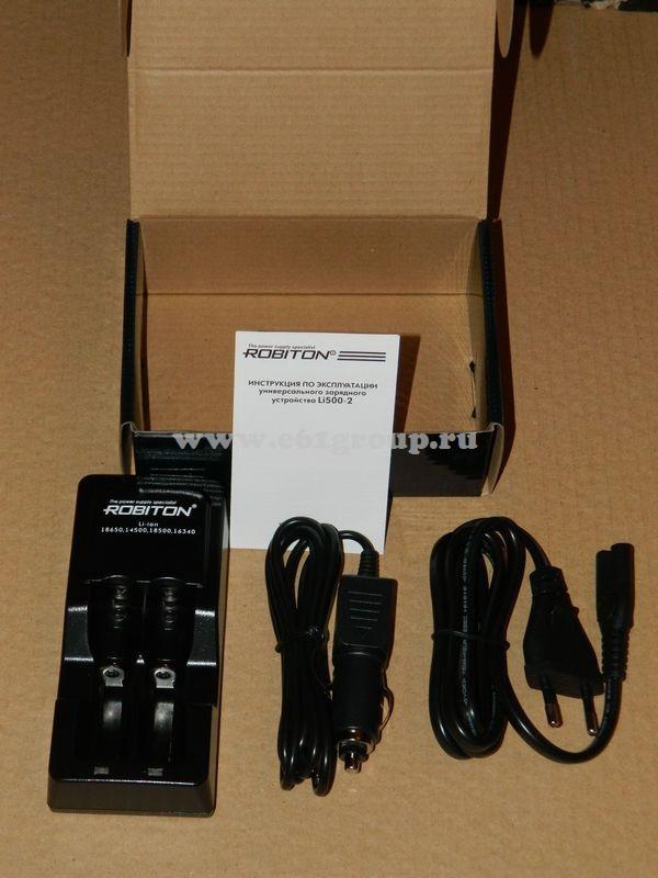 зарядное устройство Robiton Li500-2 отзывы