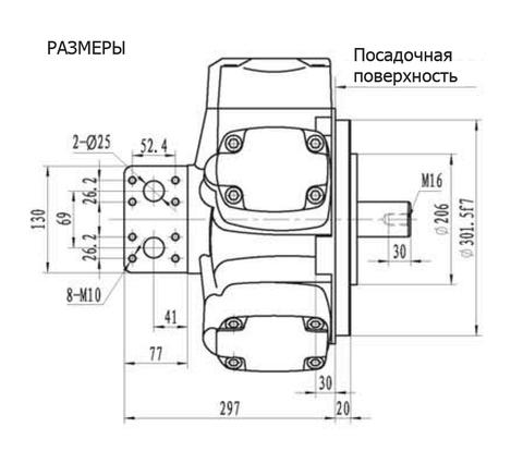 Гидромотор IPM7-2400
