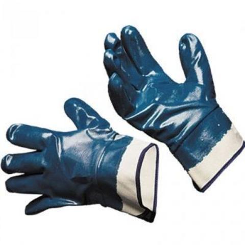 Перчатки нитриловые манжета крага