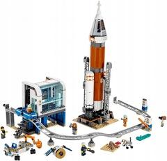 Конструктор Сити 11387 Ракета для запуска в далекий космос
