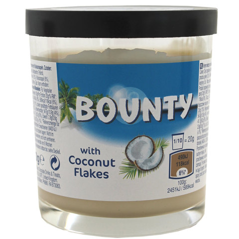 Bounty With Coconut Flakes Сладкая паста Баунти 200 гр