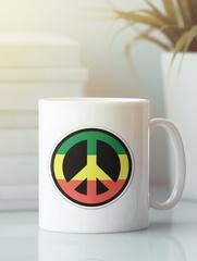 Кружка с рисунком Боб Марли (Bob Marley) белая 0012