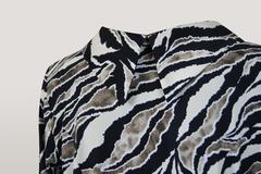 Блузка Gracjia хомут зебра