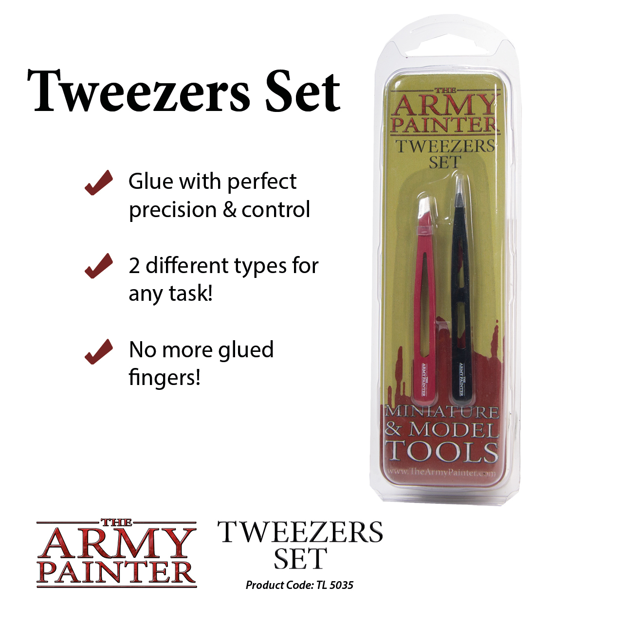 Army Painter Tweezers Set