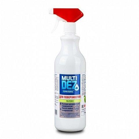Дезинфицирующее средство МультиДез для поверхностей яблоко (триггер) 1000мл