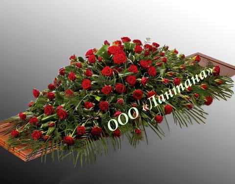 Композиция из живых цветов № КЖ-17