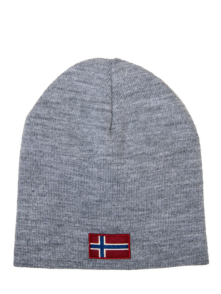 Napapijri шапка Fira серый меланж - Фото 1