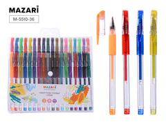 Mazari Lipari набор гелевых ручек 0.5-0.8 мм - 36 цветов