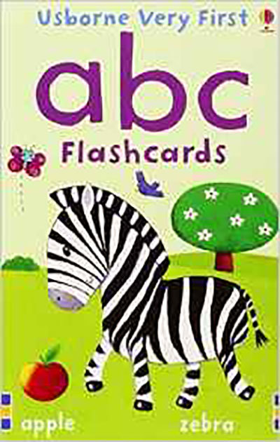 Very First Flashcards ABC