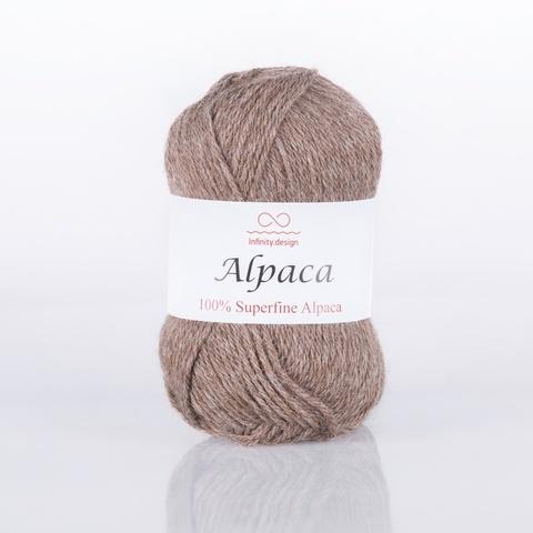 Пряжа Infinity Alpaca 0063 бежевый