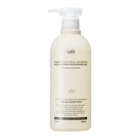 Бессульфатный органический шампунь с эфирными маслами  Lаdоr Triрlеx 530 мл.