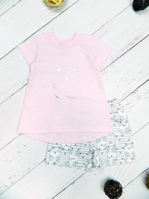Комплект для девочки, 2686, светло-розовый