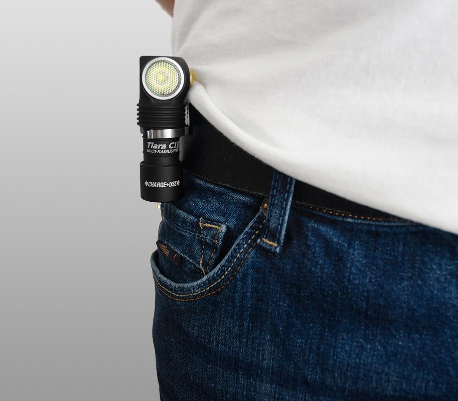 Мультифонарь Armytek Tiara C1 Pro Magnet USB (тёплый свет) - фото 4