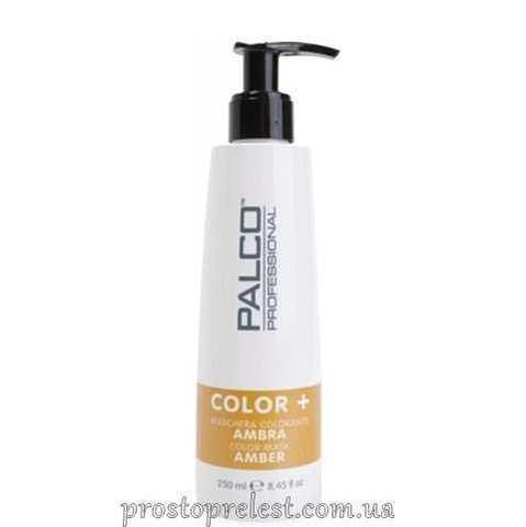 Palco Professional Color + Color Mask Amber - Питательная тонирующая маска для волос Янтарная
