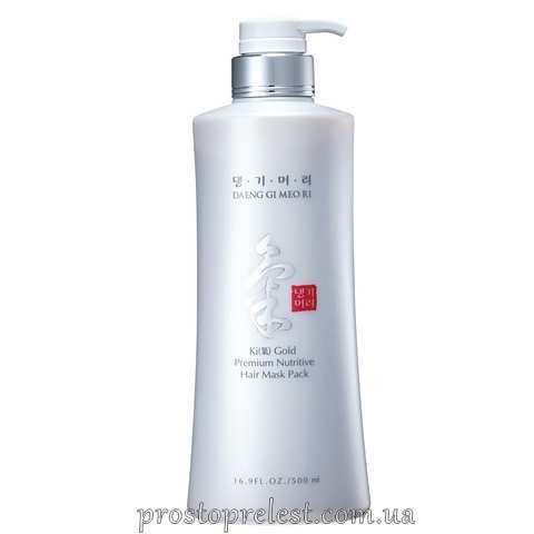 Daeng Gi Meo Ri Ki Gold Premium Nutritive Hair Mask Pack - Поживна маска для волосся