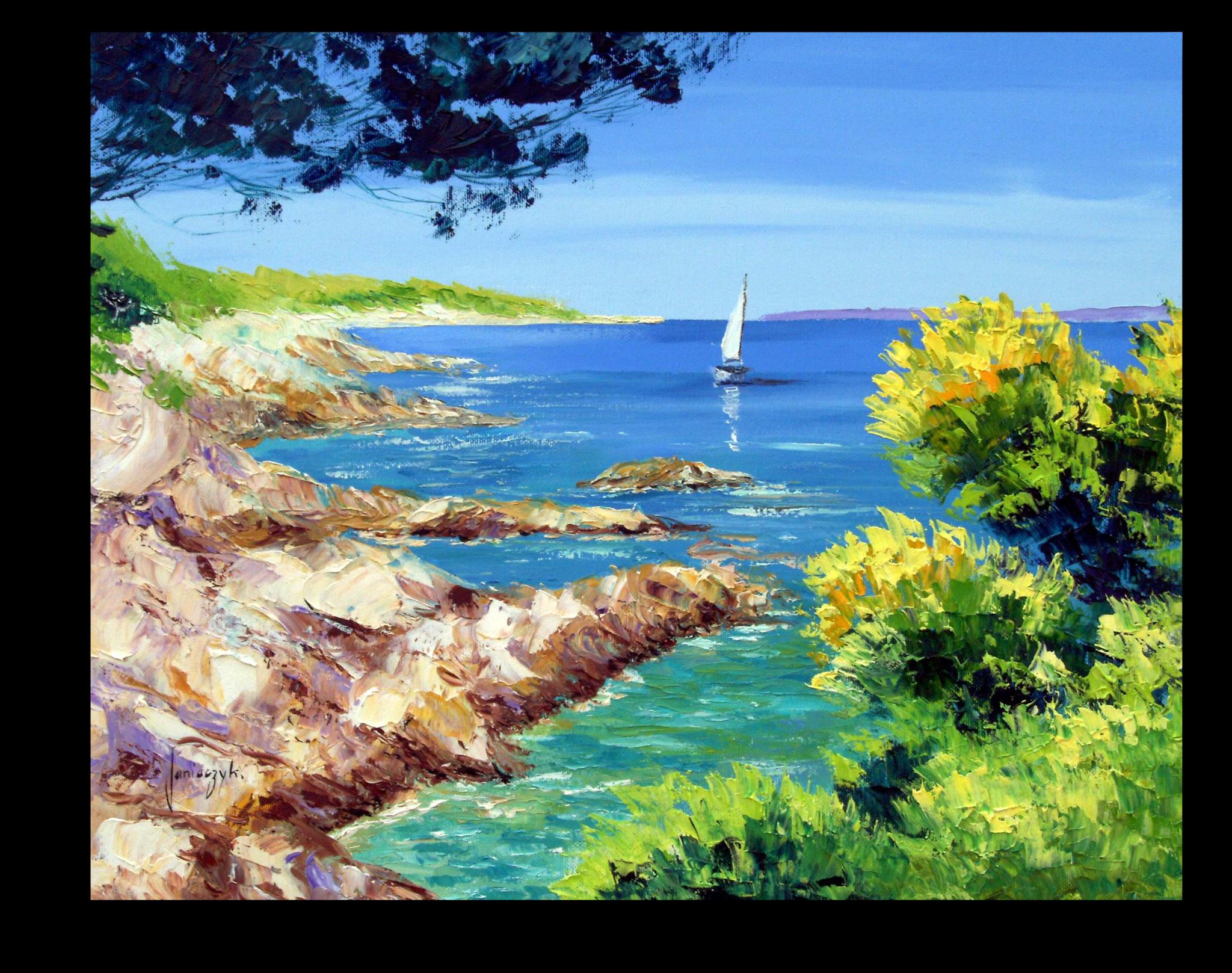 """Постеры Постер """"Морской пейзаж"""" п210.png"""