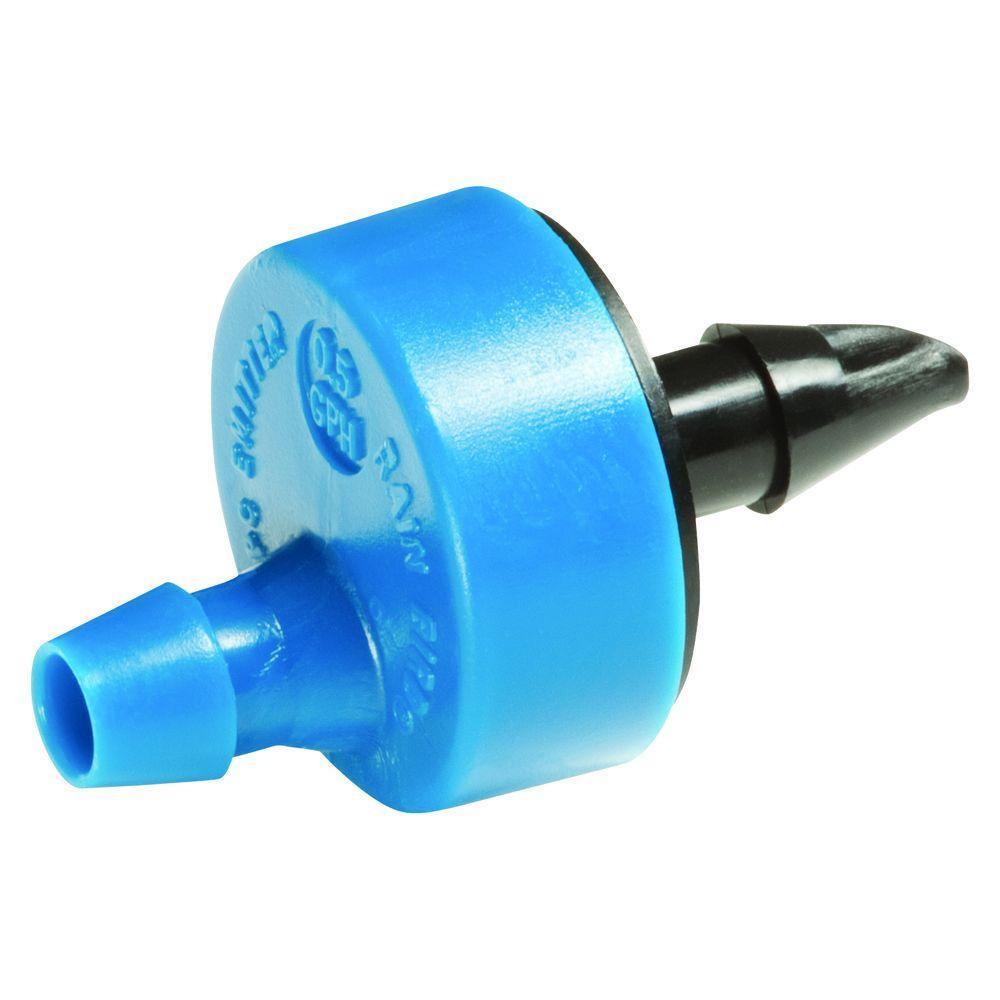 Капельница для капельного полива 1.9 л/час самопробивная RainBird (синяя)
