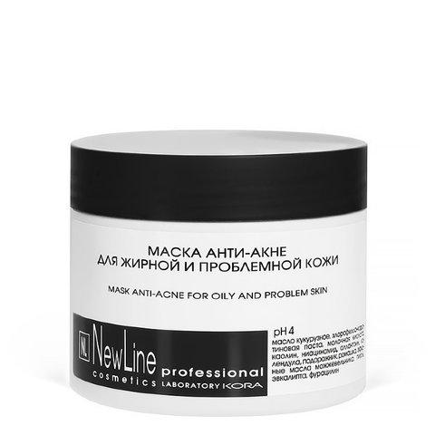 *Маска анити-акне для жирной  и проблемной кожи(NewLine/300мл/45635)