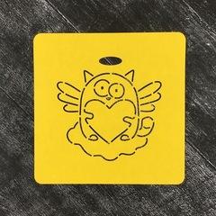 Кот с сердцем №3