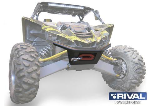 Бампер передний для Yamaha UTV YXZ 1000R (с креплением лебедки)