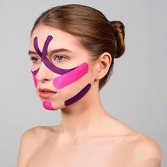 Тейпы для лица BB TAPE™ 5см*5м хлопок розовый, BBalance Корея