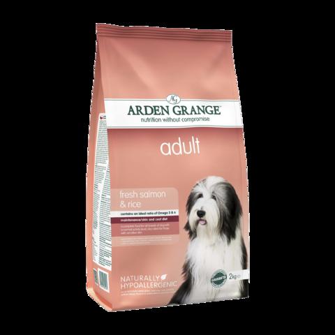 Arden Grange Adult Сухой корм для взрослых собак Лосось и Рис