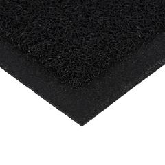 Коврик пористый, Стой на своем, черный,50*70 см
