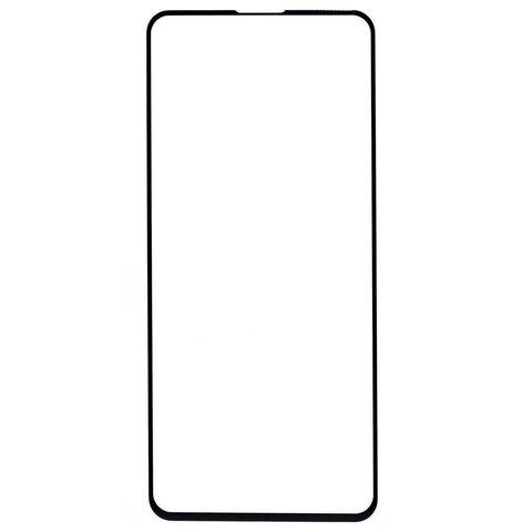 Защитное стекло для Xiaomi Redmi Note 9S и Note 9 Pro с черной рамкой 2,5D Full Glue