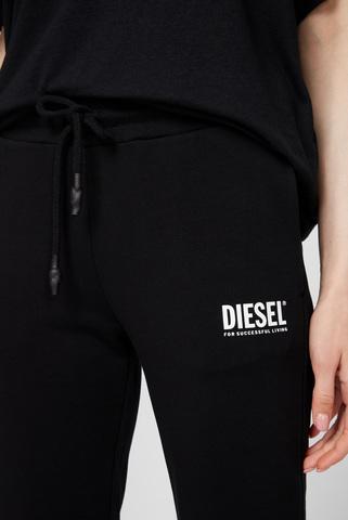 Женские черные спортивные брюки Diesel