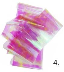 Битое стекло для дизайна ногтей №4