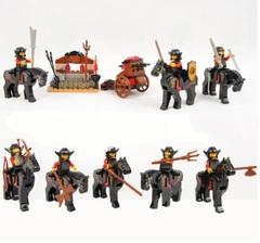 Minifigures Castle Soldiers Blocks Building Series 05