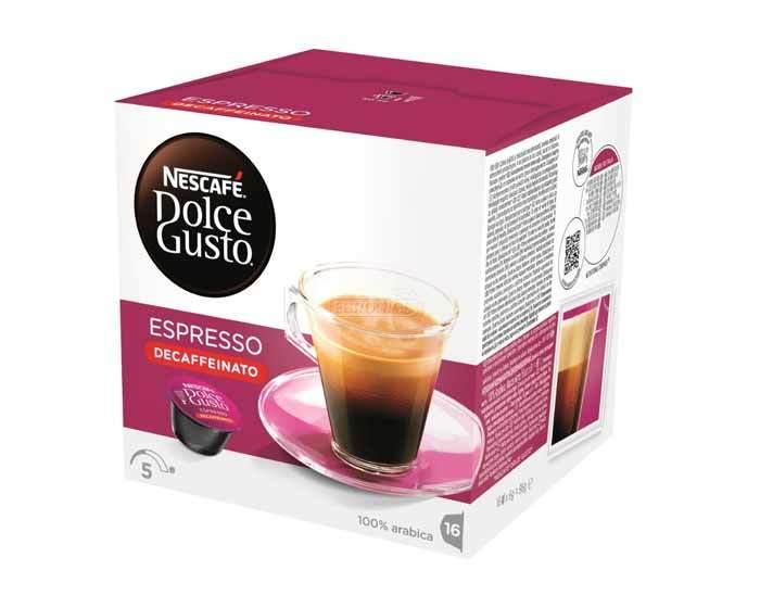 Кофе в капсулах Dolce Gusto Espresso, 16 капсул