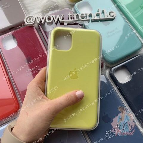 Чехол iPhone 11 Silicone Case Full /flash/