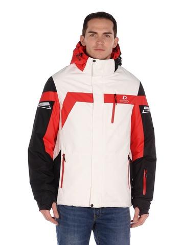 Горнолыжная мужская куртка BATEBEILE белого цвета.