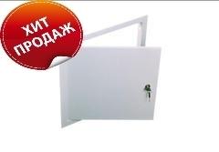 Лючок (дверца) для ГКЛ 200х250мм пластик
