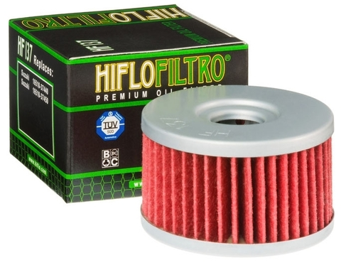 Фильтр масляный Hiflo HF137 Suzuki LS XF DR 650 750 800