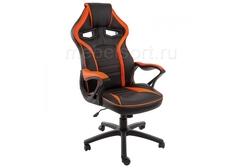 Компьютерное кресло Монза (Monza) черное / оранжевое