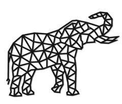 Деревянный интерьерный пазл EWA Design Слон